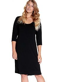 Karen Kane Plus Size A line Dress