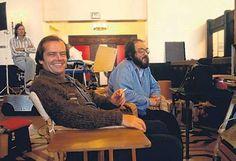 Jack Nicholson and Stanley Kubrick | Rare, weird & awesome celebrity photos