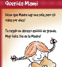 mothers day images in spanish | spanish mother s day cards are easy to use with kids learning spanish ...