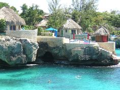 The Caves in Jamaica. Cliff diving and candlelit dinners. Love.