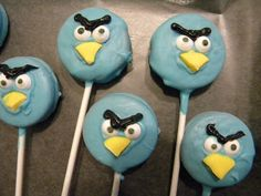 The Daily Dakin: Birthday Party--Angry Birds Style