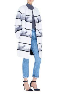 LILLY E VIOLETTA #fashion#fur #striped #mink #jacket #luxury #lillyevioletta @lillyevioletta1