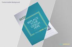 smart object based free letterhead mockup