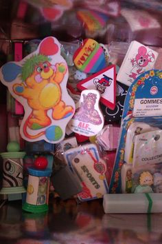 Found my 80's erasers collection :)