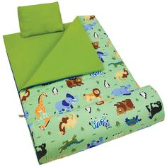 Olive Kids Wild Animals Sleeping Bag - 17080