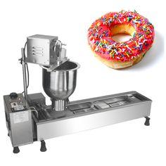 Mini doughnut machine automatic donut fryer stainless steel sweet donut shaping machine newest donut bakery maker #Affiliate