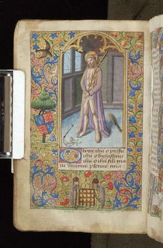 Book of Hours, MS M.815 fol. 28v - Images from Medieval and Renaissance Manuscripts - The Morgan Library & Museum