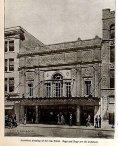 Tivoli Theatre, Chattanooga TN in 1920 Chattanooga Attractions, Downtown Chattanooga, Chattanooga Tennessee, East Tennessee, Nashville, Old Pictures, Old Photos, Vintage Photos, Tivoli Theater