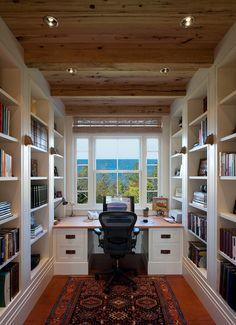 #Biblioteca #Escritório #home #office