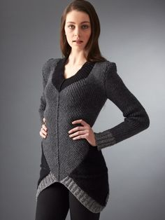 Free knitting pattern for Hunger Games District 12 Sweater and more Hunger Games knitting patterns at http://intheloopknitting.com/hunger-games-knitting-patterns/