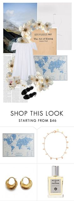 """""""L'art d'embrasser"""" by floralbeauteous ❤ liked on Polyvore featuring Pier 1 Imports, Sia Taylor, Acqua di Parma and ASOS"""