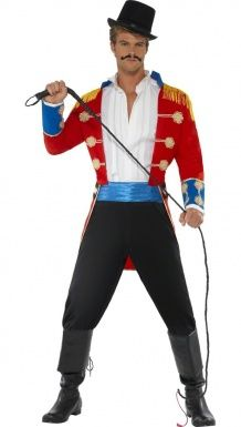 Disfraz de domador de circo para hombre