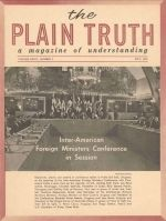 Did Jesus Have Brothers and Sisters? Plain Truth Magazine May 1962 Volume: Vol XXVII, No.5 Issue: