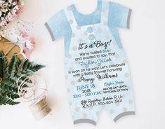 Baby Shower Boy Invitations First Birthday Boy 1st Birthday Invitations Custom #Unbranded #AnyOccasion