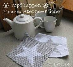p/hakelanleitung-fur-topflappen-mit-stern-kostenlos-freuleins-schnittmuster-nahanleitungen delivers online tools that help you to stay in control of your personal information and protect your online privacy. Crochet Motifs, Crochet Potholders, Crochet Patterns, Double Crochet, Easy Crochet, Free Crochet, Knitting Blogs, Free Knitting, Knitting Magazine