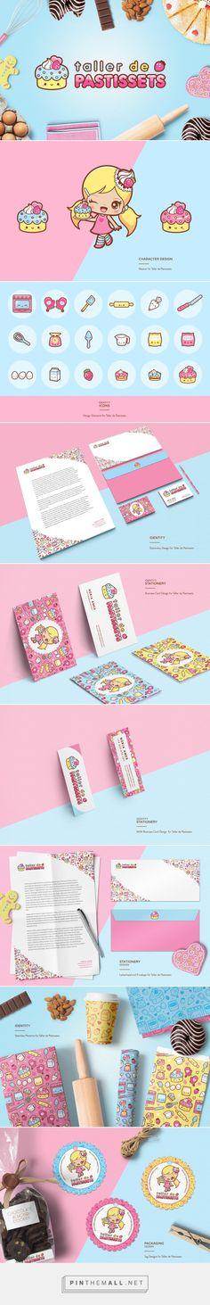 Taller de Pastissets Branding by Michele Liza Kaiser-Pelayre on Behance | Fivestar Branding – Design and Branding Agency & Inspiration Gallery