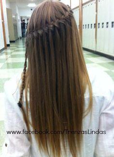 This was my 6th grade Graduation Hair!