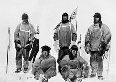 On November 12, 1912, the frozen bodies of Robert Scott and his men are found on the Ross Ice Shelf in Antarctica.