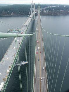 Tacoma Narrows Bridges | by WSDOT