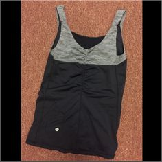 Lululemon Tank Lululemon athletic tank top. Only worn a couple of times, no signs of wear. Not exactly sure what the name of this top is! WILLING TO TAKE TRADES FOR LULU BRAS lululemon athletica Tops Tank Tops