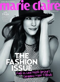 Liv Tyler - Marie Claire.