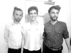 We Were Evergreen: Fabi Dee, Michael & William backstage in London