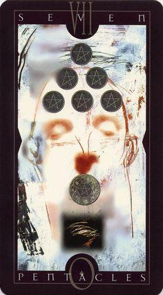 Vertigo Tarot: Seven of Pentacles