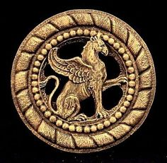 Rare Royal Griffin Gryphon Lion Eagle English Wall by ArtofHistory