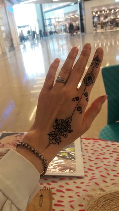 (notitle) - B - Henna Designs Hand Henna Hand Designs, Pretty Henna Designs, Mehndi Designs Finger, Henna Tattoo Designs Simple, Mehndi Designs For Fingers, Simple Mehndi Designs, Henna Tattoo Hand, Hand Tattoos, Finger Tattoos