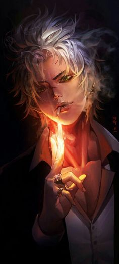 He's... HOT- Get it? Cause his fingers are lighters an- I'll just go...