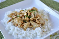 Cashew Nut Chicken- this sounds easy & delicious.  and no 'exotic' ingredients.