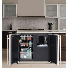 36 Custom Refrigerator Ice Machine Gl Door Beverage Mini Fridge