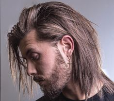 Long Hair Hairstyles + Haircuts For Men Styles) Cool Hairstyles For Men, Haircuts For Long Hair, Hairstyles Haircuts, Haircuts For Men, Straight Hairstyles, Haircut Men, Natural Hairstyles, Haircut Style, Hairstyle Men