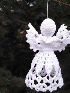 Horgolt angyalka I