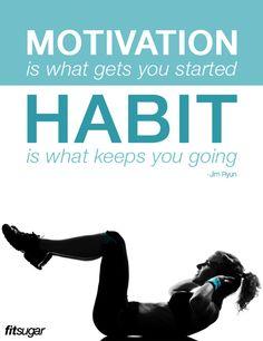 Turn it into a habit