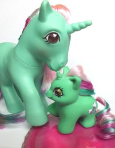 Adorable My Little Pony teeny tiny baby Fizzy custom made completely of sculpy/fimo ...
