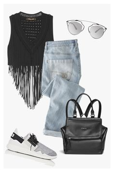 """""""lovelyhard"""" by namelif ❤ liked on Polyvore featuring Roberto Cavalli, Wrap, Christian Dior, Givenchy and Y-3"""