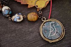 Tender Nest from Rustic Wrappings by Kerry Bogert, beads by Kelley Wenzel