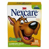Nexcare Cool Collection Tattoo Waterproof Bandages   20 Bandages  •� �   Clear, breathable material  A variety of designs featuring fun faces   Superior protection against water, dirt and germs   Clear, breathable materials   Same benefits as standard waterproof bandages