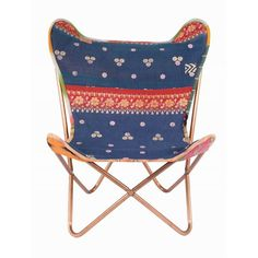 Glamping - butterfly chairs add a touch of class and style to any bell tent