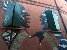 Dozza, listada como uma das mais belas vilas da Itália;