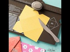 Make Your Own Vellum Envelopes with the Stampin' Up! Envelope Punch Board.  More ideas at www.keenankreations.com