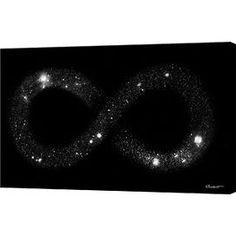 Universe Infinity Canvas Print