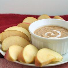 Peanut Butter Yogurt Fruit Dip