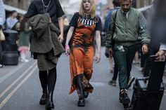 Another day, another batch of fashion week street style. This time it's a second set of images from London Fashion Week SS17.