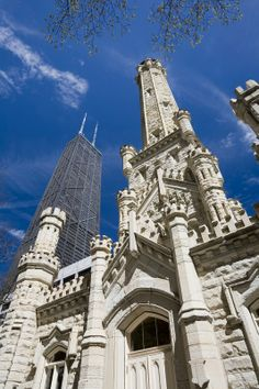 Chicago Water Tower - Built in 1869
