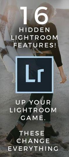 16 hidden Lightroom features!