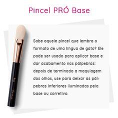 Pincel pró base Una - Os pinceis certos para uma maquiagem profissional.