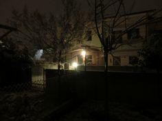 un po di neve e il paesaggio cambia