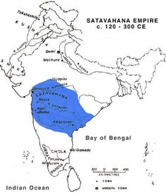 The Mauryan Emperors were succeeded in Magadha by the Sunga and Kanva rulers, while the Greeks, the Parthians, the Sakas and the Kushanas ruled the north-west frontier. In the trans-Vindhyan India a new power was rising under the Satavahanas.